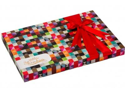 طراحی بسته بندی شکلات کادویی شیندان